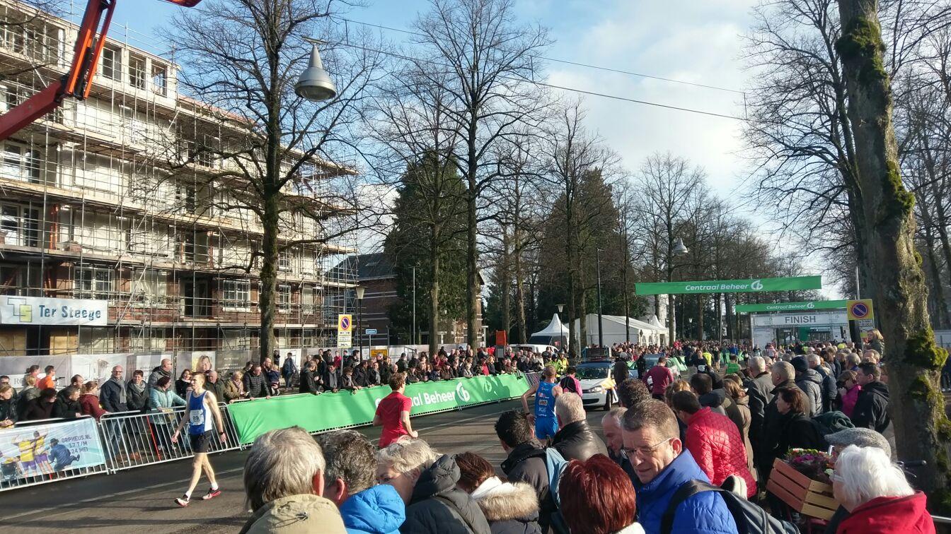 Ter Steege Bouw Vastgoed Apeldoorn heeft weer deelgenomen aan de Midwintermarathon te Apeldoorn