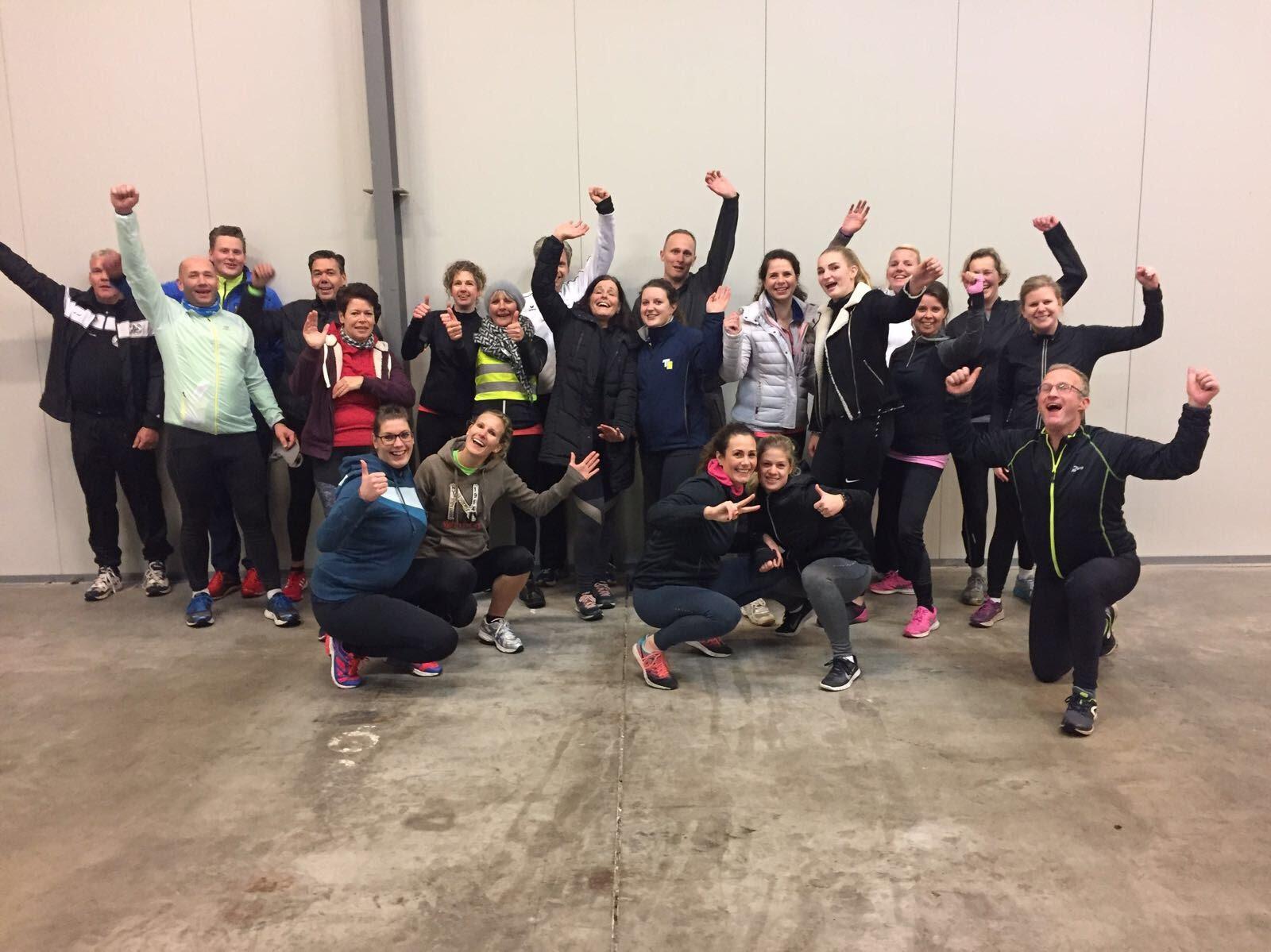 Bootwalk en DISQ-training op de vrijdagmiddag