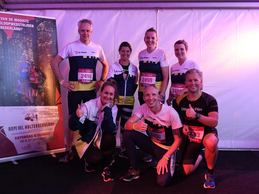 6 kilometer in het holst van de nacht - Diepe Hel Holterbergloop 2019